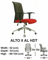 Kursi Direktur & Manager Indachi Alto II AL HDT