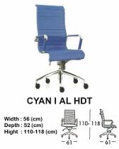 Kursi Direktur & Manager Indachi Cyan I AL HDT