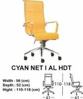 Kursi Direktur & Manager Indachi Cyan NET I AL HDT