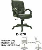 Kursi Direktur & Manager Indachi D-670