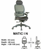 Kursi Direktur & Manager Indachi Matic I N