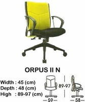 Kursi Direktur & Manager Indachi Orpus II N