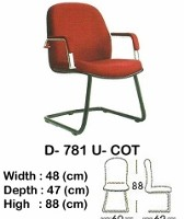 Kursi Hadap Indachi Type D-781 U-COT