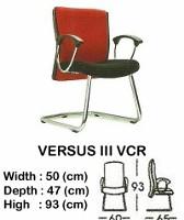 Kursi Hadap Indachi Versus III VCR