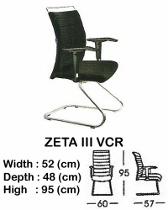 Kursi Hadap Indachi Zeta III VCR