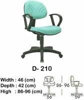 Kursi Staff & Sekretaris Indachi D-210