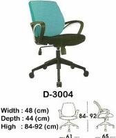 Kursi Staff & Sekretaris Indachi D-3004