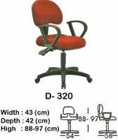 Kursi Staff & Sekretaris Indachi D-320