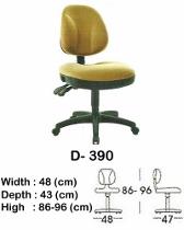 Kursi Staff & Sekretaris Indachi D-390