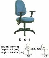 Kursi Staff & Sekretaris Indachi D-411