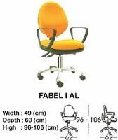 Kursi Staff & Sekretaris Indachi Fabel I AL
