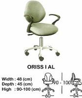 Kursi Staff & Sekretaris Indachi Oriss I AL