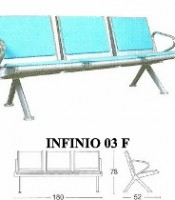 Kursi Tunggu Savello Type Infinio 03 F