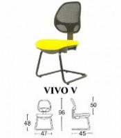Kursi Staff & Sekretaris Savello Vivo V