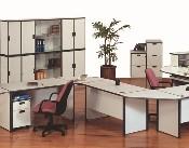 Meja Staff 3 Orang