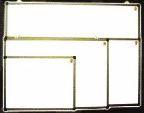 Papan Tulis (Whiteboard) Daiko Single Face (Gantung) 90 cm x 120 cm
