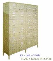 Locker 24 Pintu Elite Type EL-466-GD4K