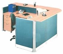 Partisi Kantor Uno Exclusive Receptionist Configuration