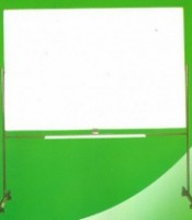 Papan Tulis (Whiteboard) Sakana Single Face (Stand) 90 x 180 cm